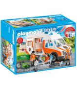 Playmobil City Life Ambulance with Flashing Lights