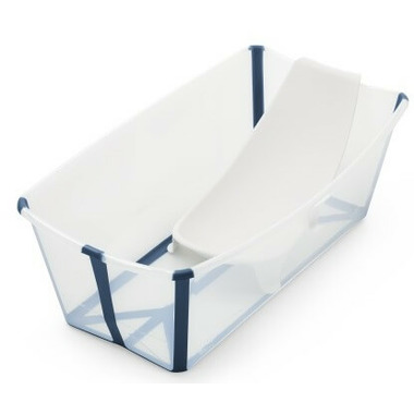 Stokke Flexi Bath Bundle Transparent Blue