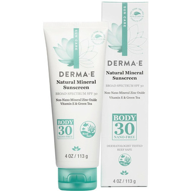 Derma E Natural Mineral Sunscreen Broad Spectrum SPF 30 Body