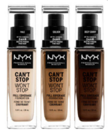 NYX Can't Stop Wont Stop Full Coverage Foundation