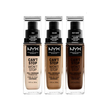 NYX Can\'t Stop Wont Stop Full Coverage Foundation