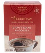 Teeccino Lion's Mane Rhodiola Mushroom Herb