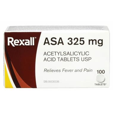 Rexall ASA Acetylsalicylic Acid