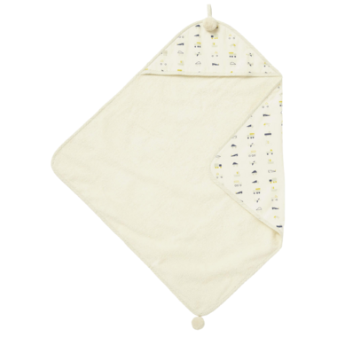 Petit Pehr Traffic Jam Hooded Towel
