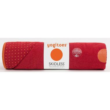 Manduka yogitoes Skidless Yoga Towel Chakra Red