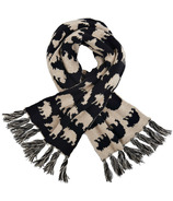 Little Blue House Heritage Adult Scarf Black Bears