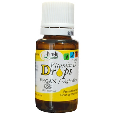 Pure-le Natural Vitamin D Drops