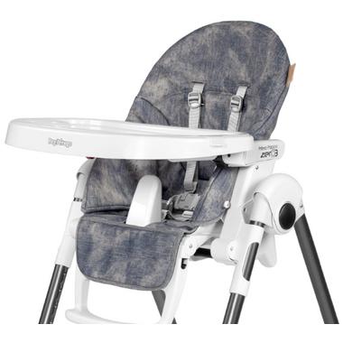 Peg Perego Prima Pappa Zero High Chair Demin