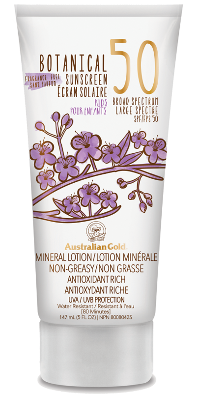 Buy Australian Gold Botanical Spf 50 Kids Mineral Lotion From Canada At Well Ca Free Shipping