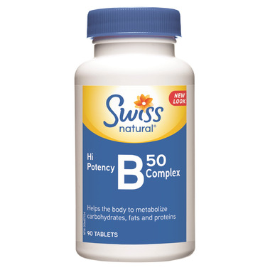 Swiss Natural High Potency B50 Complex
