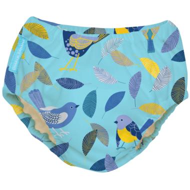 Charlie Banana 2-in-1 Swim Diaper & Training Pant Twitter Birds XL