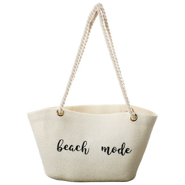 Tickled Pink Beach Mode Embroidered Bag