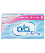 o.b. Pro Comfort Tampons with SilkTouch Cover