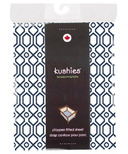 Kushies Portable Playpen Fitted Sheet Octagon Navy