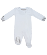 Juddlies Organic Sleeper White & Grey