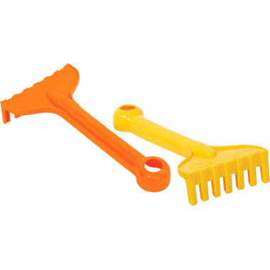 "Gowi 7.5"" Rake Orange/ Yellow"