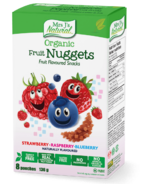 Mrs J's Natural Organic Fruit Nuggets Fruit Flavoured Snacks