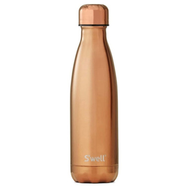 S\'well Metallic Collection Stainless Steel Water Bottle Rose Gold