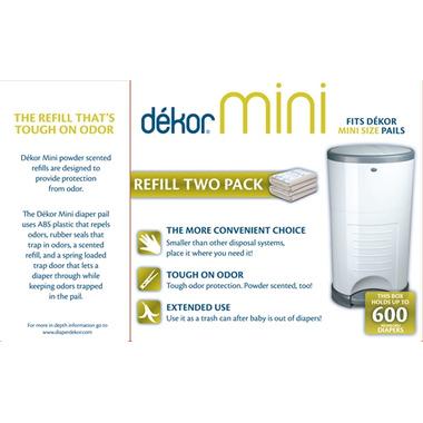 Dekor Mini Diaper Pail Refill