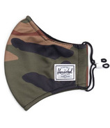 Herschel Supply Co. Classic Fitted Face Mask Woodland Camo