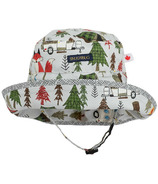 Snug As A Bug Deep Woods Adjustable Sun Hat