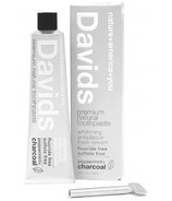 Davids Premium Natural Toothpaste Charcoal