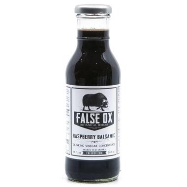 False Ox Raspberry Balsamic Shrub Drinking Vinegar