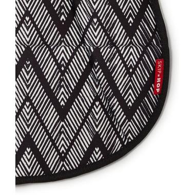 Skip Hop Stroll & Go Cool Touch Stroller Liner Zig Zag Zebra