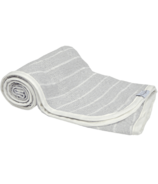House of Jude Hooded Baby Turkish Towel Stone
