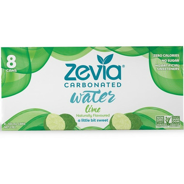 Zevia Lime Sparkling Water