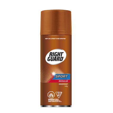 Right Guard Sport Bronze Aerosol Deodorant