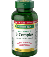 Nature's Bounty Super B-Complex with Folic Acid & Vitamin C