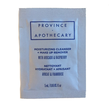 Province Apothecary Moisturizing Cleanser + Make Up Remover Sample