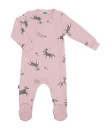 Kushies Side Zip Sleeper Light Pink