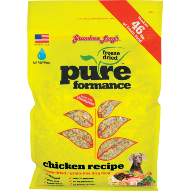 Grandma Lucy\'s Pureformance Chicken Freeze-Dried Grain-Free Dog Food