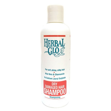Herbal Glo Dry Damaged Hair Shampoo