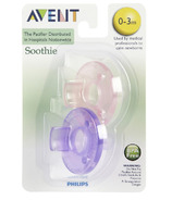 Philips AVENT Soothie Pacifier Purple and Pink