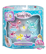 Twisty Petz Series 3 Rainbow Puppy Family Pack Collectible Bracelet Set