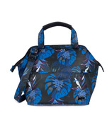 Lug Chomper Convertible Lunch Tote Botanical Black