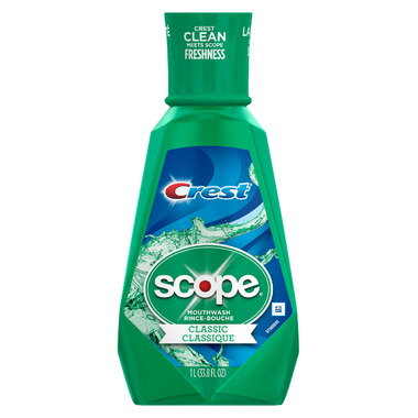 Crest Scope Original Mint Mouthwash