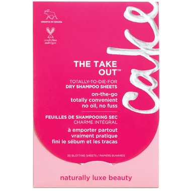 Cake Beauty The Take Out Dry Shampoo Blotting Papers