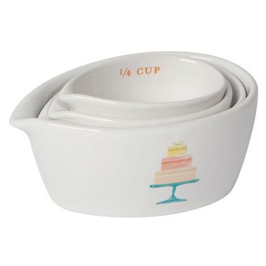 Now Designs Measuring Cups Cake Walk