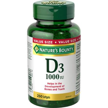 Nature\'s Bounty Vitamin D3