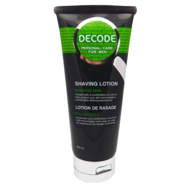 DECODE Sensitive Skin Shaving Lotion