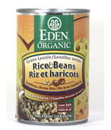 Eden Organic Rice & Beans Green Lentils