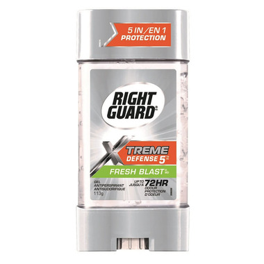 Right Guard Total Defense 5 Power Gel Antiperspirant Fresh Blast
