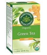 Traditional Medicinals Organic Green Tea Ginger