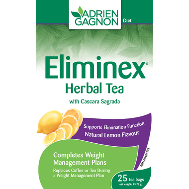 Adrien Gagnon Eliminex Herbal Tea Lemon Flavour