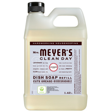 Mrs. Meyer\'s Clean Day Dish Soap Refill Lavender