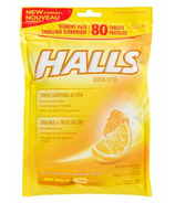 Halls Economy Bag Cough Drops Honey Lemon